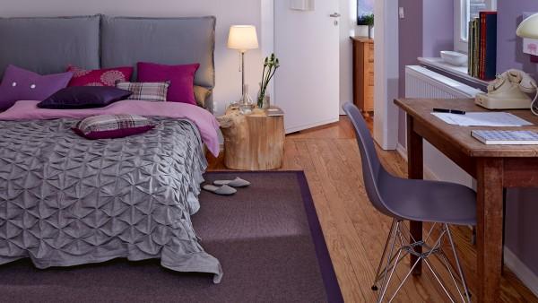 Tretford Teppiche mit Bordüre aus Filz 4 Meter Breit