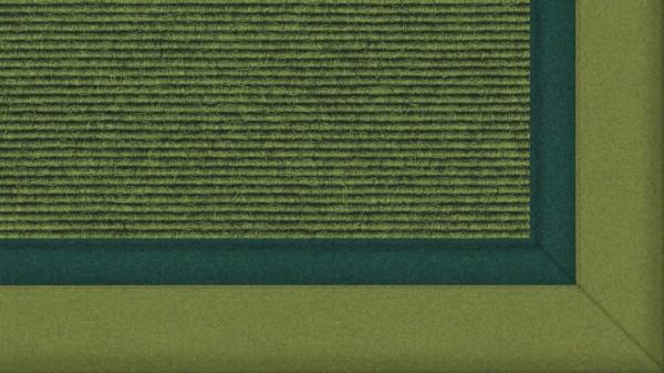 Tretford Teppiche mit zweifarbiger Bordüre aus Filz 4 Meter Breit