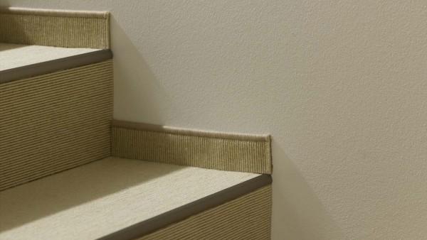 Tretford Treppenprofile 3 Meter in Messing und Neusilber